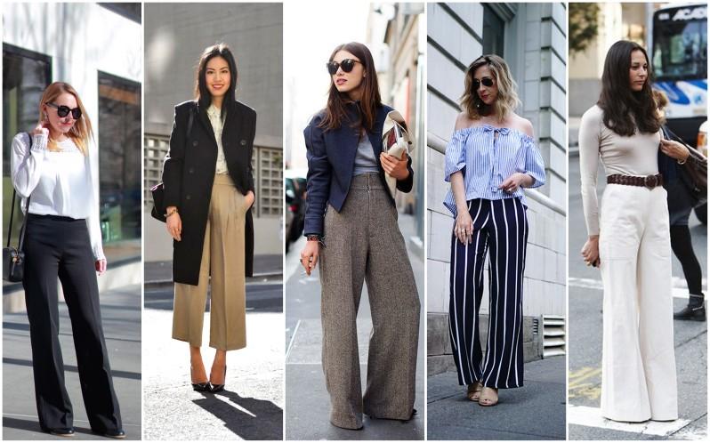 jak se nosí široké kalhoty (2)
