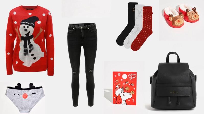 vánoční outfit vánoční svetr