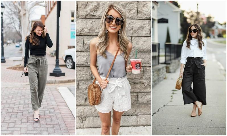 jak se nosí paper bag kalhoty (3)