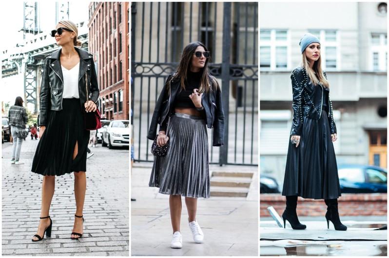 jak se nosí plisovaná sukně 2019 (6)