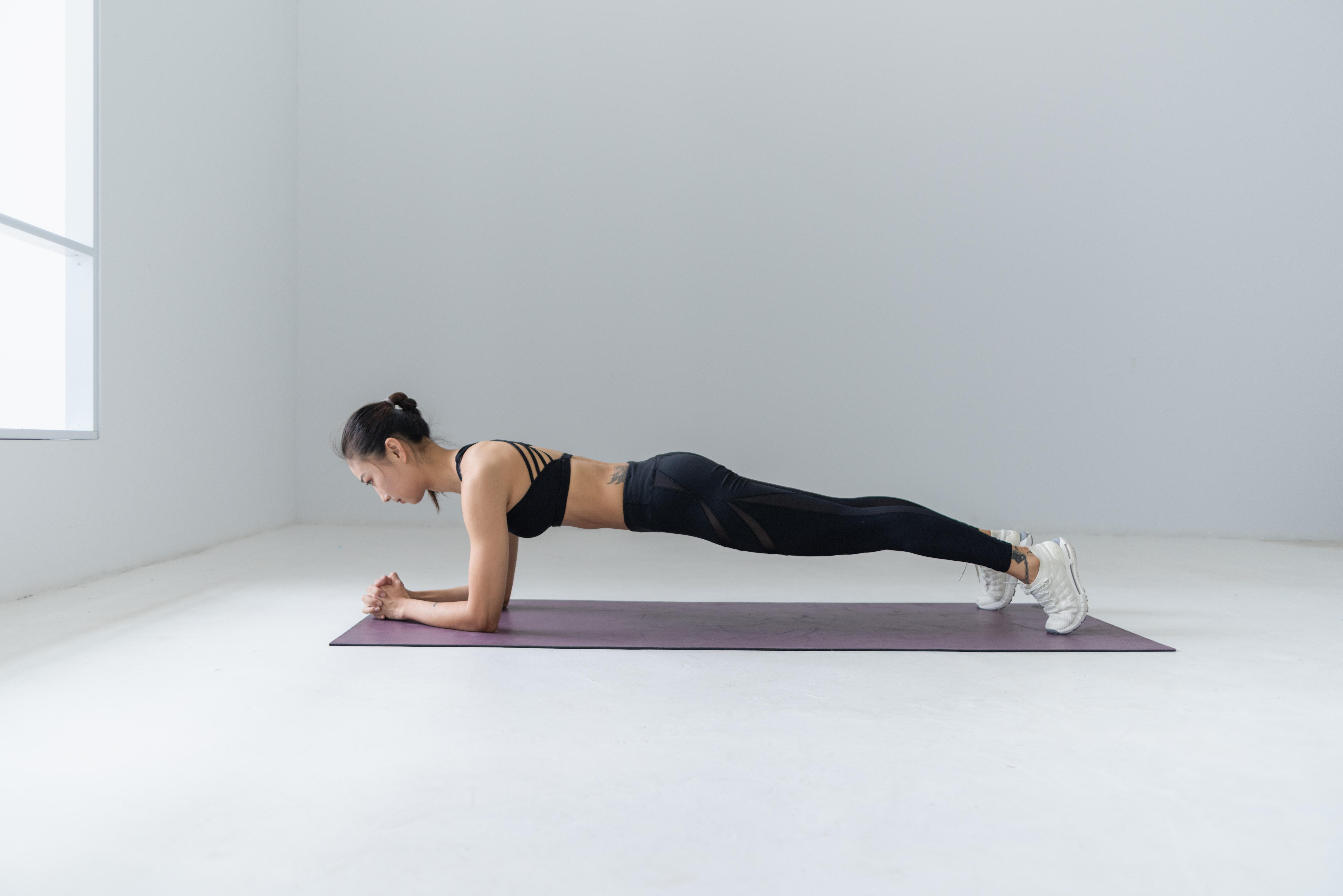 Pozice prkno jóga