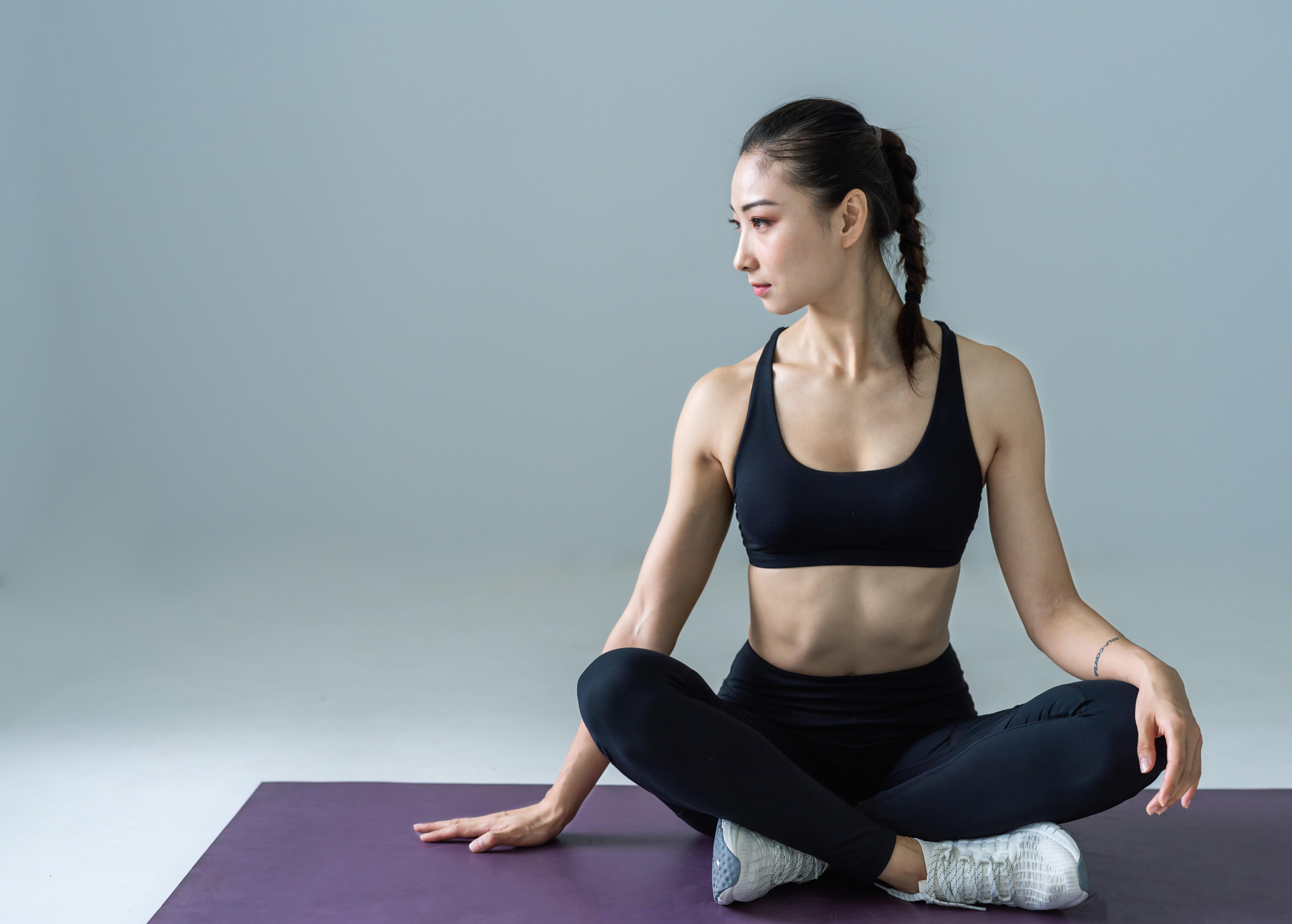 Snadná pozice jóga