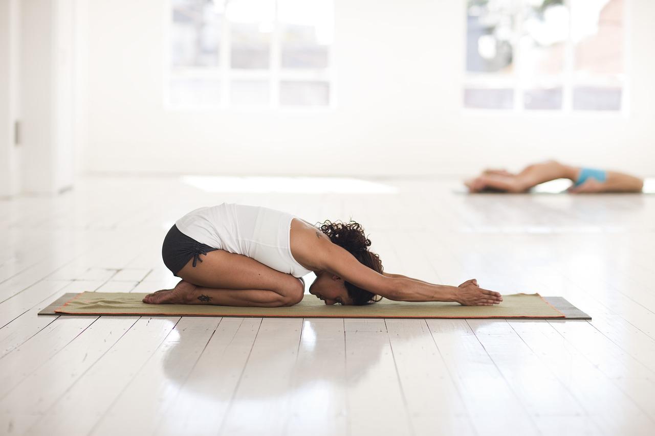 Pozice dítěte jóga